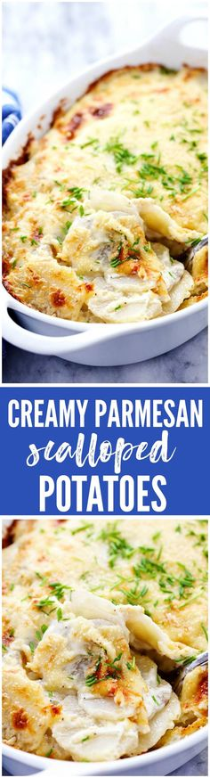 Creamy Parmesan Scalloped Potatoes