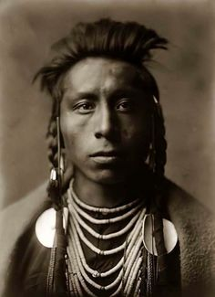 Native American Man in traditional regalia by AutumnAlexander