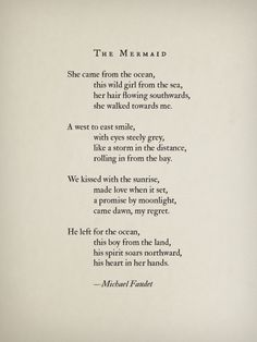 The Mermaid by Michael Faudet