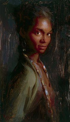 Susan Lyon Tissa oil on canvas.