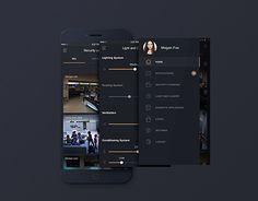Ознакомьтесь с этим проектом @Behance: «Smart House App for IOS» https://www.behance.net/gallery/24901175/Smart-House-App-for-IOS