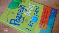 #recenzja http://magicznyswiatksiazki.pl/poznaje-swiat-i-kropka-o-zarowce-ktora-swieci-lustrze-i-pajeczej-sieci-rafal-klimczak/ #magicznyswiatksiazki