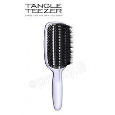 Tangle Teezer Blow-Styling Hairbrush Full Paddle muotoiluharja Hair You Wear, Paddle Brush, Vintage Microphone, Hair Brush, Tangled, Hair Accessories, Cosmetics, Tools, Youtube