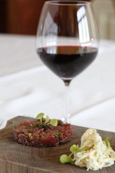 Steak Tartar with Pinot Noir