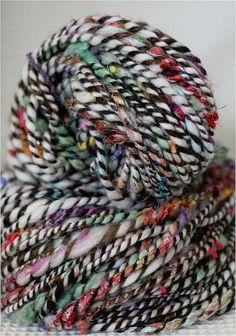Beautiful handspun yarn.