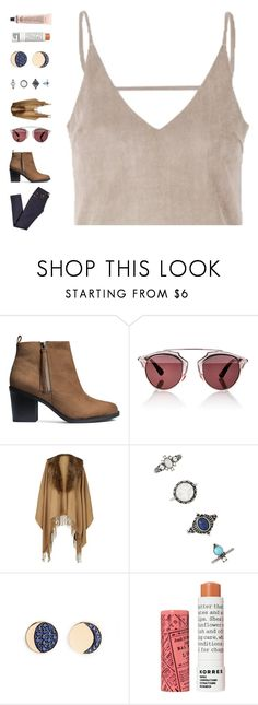 """""""highway to hell"""" by ouchm4rvel ❤ liked on Polyvore featuring H&M, Christian Dior, Forever 21, Pamela Love, Korres and Grown Alchemist"""