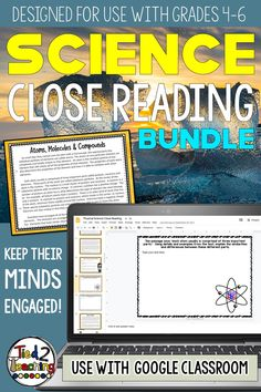 This reading passage BUNDLED pack covers highly tested Life Science, Earth Science, and Physical Science topics and includes 29 DIGITAL close reading informational passages! Each passage also has 4 text dependent questions that drive students back to the text to extrapolate the needed information. In addition, for every passage you will receive both an informational and a opinion / argument prompt the students can write to.