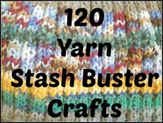 Yarn Stash Buster Patterns - The Knit Wit by Shair
