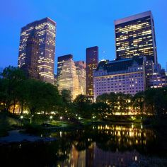 Falling Waters, Wall Street, New York City, Skyscraper, Waterfall, Multi Story Building, Lifestyle, Waterfalls, Skyscrapers