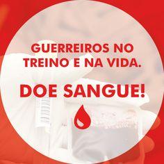 Com uma bolsa de sangue você pode salvar até 4 vidas, doe sangue!✊  #ConanNutrition #DoeSangue