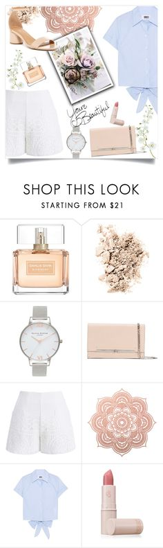 """""""simple elegance"""" by emina-la ❤ liked on Polyvore featuring Givenchy, NARS Cosmetics, Olivia Burton, Casadei, Chicwish, MM6 Maison Margiela, Lipstick Queen and Abound"""