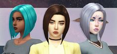 "subtles4stubble: "" EA Bob Revamped - a Sims 4 hair I hit 100 followers, and it's about time to celebrate with new CC! I came up with this after going through the base game hairstyles and pretty much..."