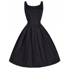 'Lana' Black Party Dress