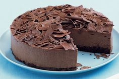 Valentines Day Treat - Milk Chocolate Mousse Cake