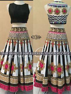 Savvys Saree Bollywood Indian Designer Sari Party Wear Women Lehenga KT-2016 #SavvysStore #LehngaCholi #PartyWearBridalWeddingFestivalReception