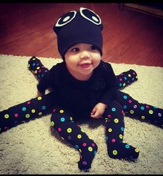 Diy baby octopus costume!