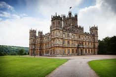Highclere Castle- Downton Abbey - glad to have  you back!