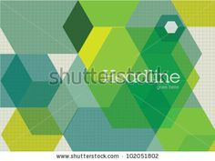 Corporate layout Cubes Design Visual Template by nanano, via Shutterstock