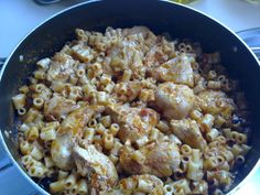 CHICKEN FILLETS IN THE OVEN WITH RED SAUSE AND PASTA Main Dishes, Grains, Oven, Rice, Pasta, Chicken, Food, Main Course Dishes, Entrees
