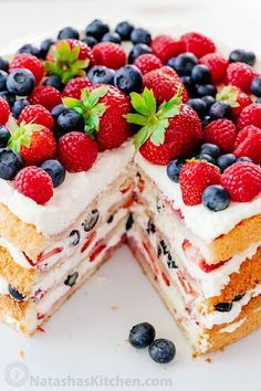 This is the most stunning berry tiramisu cake recipe you'll make because it's an actual cake - bring this to a partyand watch everyones eyes light up. What is Tiramisu? This tiramisu recipe has layers of sponge cake, berries and mascarpone with orange liqueur. Berry Tiramisu Cake is surprisingly easy to make.