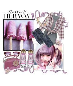 """""""Her Way in Lavender"""" by fernshadowstudio-com ❤ liked on Polyvore featuring Chicnova Fashion, Paolo Costagli and Wrap"""