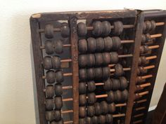 Abacus- an olden day calculator but still being used around the world