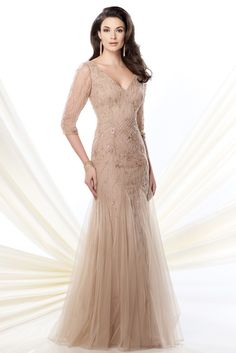 mother of the bride dresses | ... Mon Cheri - 214952 | Mother-of-the-Bride Dresses Photos | Brides.com