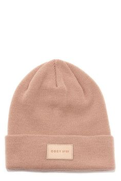 Obey Essex Blush Beanie Capture the essence of cool style with the Obey Essex Blush Beanie! This cozy and fitted blush beanie offers . Tumblr Outfits, Trendy Outfits, Cute Outfits, Cute Beanies, Cute Hats, Beanie Boos, Beanie Babies, Head Accessories, Fashion Accessories