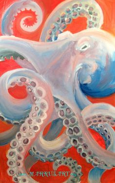 Octopus maybe do with more bright pinks, oranges blues etc