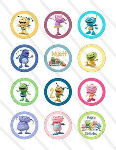 Disney Henry Hugglemonster Birthday Party 2 by KrittsKreations, $5.00