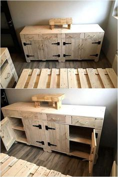 pallet-wood-side-table