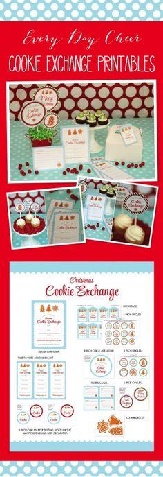 Cookie Exchange Free Printables