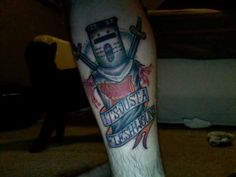 Monty Python and the Holy Grail - Now, that's one nerdy tattoo!
