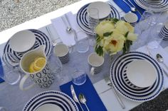 #campkatespade we mixed and matched patterns from our charlotte street collection to create a cheery outdoor brunch spread