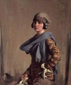 The Fair-Isle Jumper by Stanley Cursiter, 1923