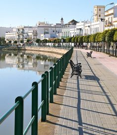 Ayamonte, Andalusia, Spain Took a little boat here from the Portugal side at Via Real de Santo Antonio.