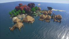 Minecraft Mansion, Cute Minecraft Houses, Minecraft Room, Minecraft City, Minecraft Plans, Minecraft House Designs, Amazing Minecraft, Minecraft Survival, Minecraft Construction