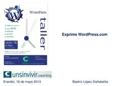 20130516   exprime wordpress