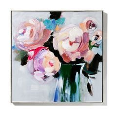 Heart Set Free Canvas in Carnation Bloom