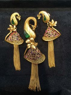 Choose Your Own Jewelry Styles Gold Jewellery Design, Gold Jewelry, India Jewelry, Chain Jewelry, Gold Pendent, Pendant Set, Gold Set, Gold Gold, Jewelry Model