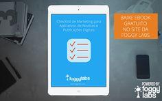Checklist de Marketing para Aplicativos de Revistas e Publicações Digitais