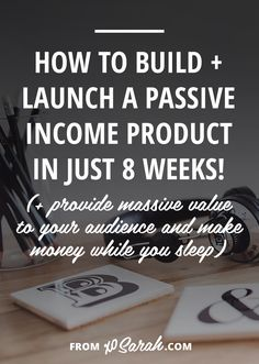Passive income has been one of the biggest factors in the massive growth my business has seen over the past year. It's allowed me to slow down my once stressful solopreneur workdays, be more selective with the design clients I take on, spend time being creative with my business, and more than triple my income this year. It's allowed me to be more free in my freelance life and it could absolutely do the same for you. Here's how to make it happen!