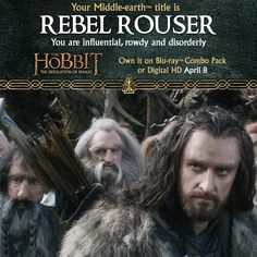 Create your Hobbit title and become Middle-earth™ legend! https://www.facebook.com/TheHobbitMovie