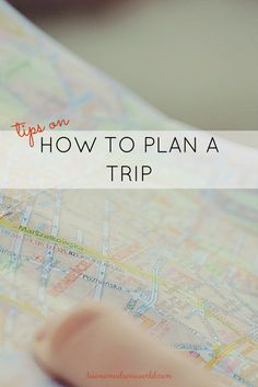 Tips on how to make trip planning easier! - Two Nomads One World