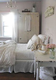 Country white bedroom!