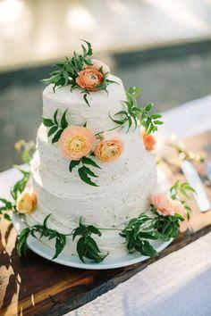 Featured Photographer:The Edges Wedding Photography; wedding cake idea