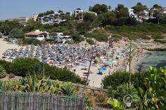 Strand Cala Mendia, Mallorca, Spanien