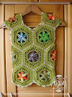 Todo para Crear ... : todo para crear con cuadrados en crochet 1