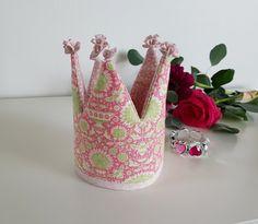 Prinsessakruunu, ompelukset, ompelutyöt, lapsille, prinsessaleikki, Tilda