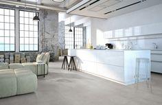 Home plus Flex - Raw concrete grey: Loose-lay pvc tegels (876) € 24,95  / m2 (incl. BTW)